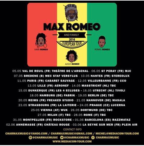 MAX TOUR 16