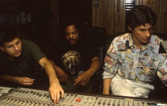 """Ce que tu veux"" recording session 1993 with Nicolas Guéret"