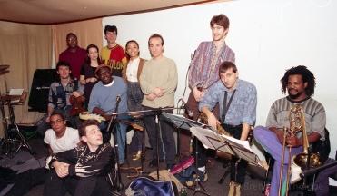 Rehearsing with Rido Bayonne 1993