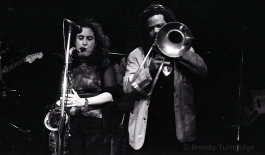 Nadège Dumas & Pierre Chabrèle at the Half Note, Athens, Greece